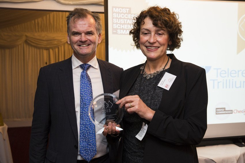 National Payroll Excellence Awards event at the House of Lords in central London on November 17, 2015