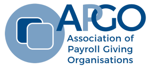 The Association of Payroll Giving Organisations Retina Logo